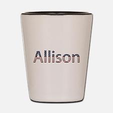 Allison Stars and Stripes Shot Glass