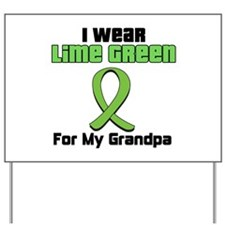 Lymphoma (Grandpa) Yard Sign
