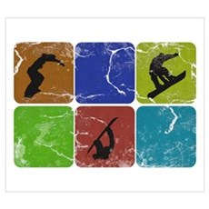 Snowboarder Canvas Art