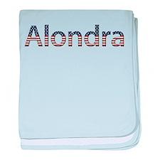 Alondra Stars and Stripes baby blanket