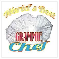 World's Best Grammie / Cook Poster