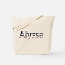 Alyssa Stars and Stripes Tote Bag