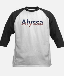Alyssa Stars and Stripes Kids Baseball Jersey