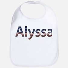 Alyssa Stars and Stripes Bib