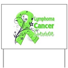 Lymphoma Survivor Yard Sign