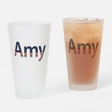 Amy Stars and Stripes Drinking Glass