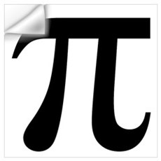 Pi Wall Decal