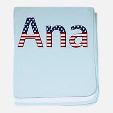 Ana Stars and Stripes baby blanket