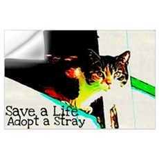 Adopt a Stray Wall Decal