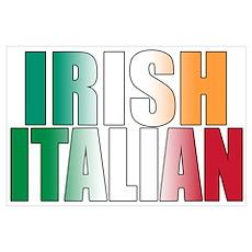 Irish Italian Poster