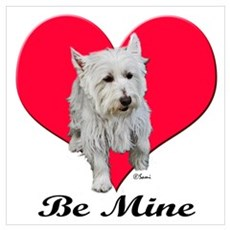 Max the Westie Poster