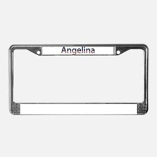 Angelina Stars and Stripes License Plate Frame