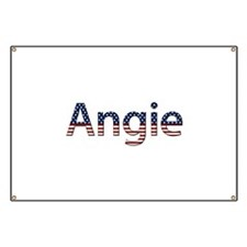 Angie Stars and Stripes Banner