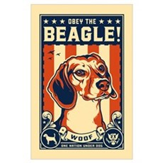 Obey the Beagle! USA Poster