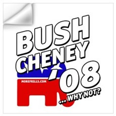 Bush Cheney '08 Wall Decal
