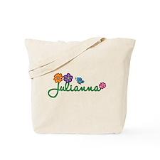 Julianna Flowers Tote Bag