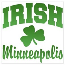 Minneapolis Irish Poster