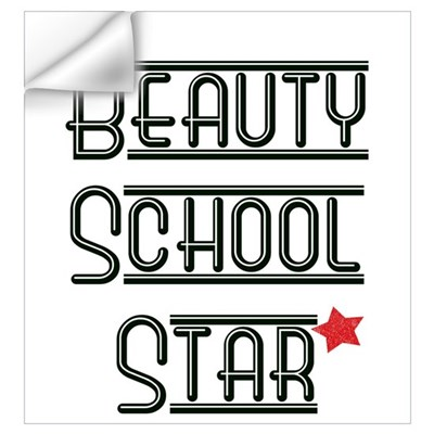 Beauty School Star Wall Decal