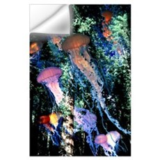 Jellyfish Forest Wall Decal