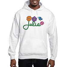 Julia Flowers Hoodie