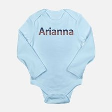 Arianna Stars and Stripes Long Sleeve Infant Bodys