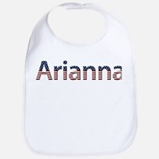 Arianna Stars and Stripes Bib