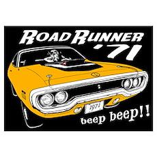 '71 Road Runner Poster