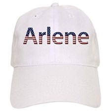 Arlene Stars and Stripes Baseball Cap