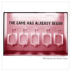Kinnick Pink Poster