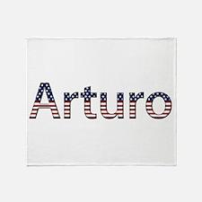 Arturo Stars and Stripes Throw Blanket