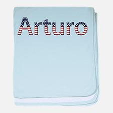 Arturo Stars and Stripes baby blanket
