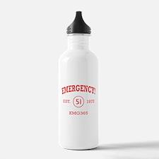 EMERGENCY! Squad 51 Vintage Water Bottle