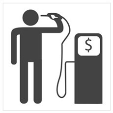 Petrol Gun To The Head Poster