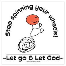 Let go, Let God! Poster