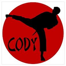 Cody Karate Poster