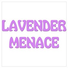 Lavender Menace Poster