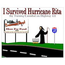 Hurricane Rita Texas Poster