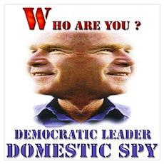 Bush Spy Poster