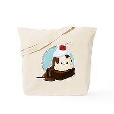 Brownie Sundae Tote Bag