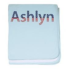 Ashlyn Stars and Stripes baby blanket