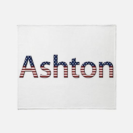 Ashton Stars and Stripes Throw Blanket