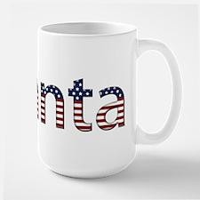 Atlanta Stars and Stripes Mug