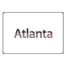 Atlanta Stars and Stripes Banner