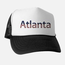 Atlanta Stars and Stripes Trucker Hat