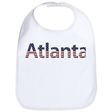 Atlanta Stars and Stripes Bib