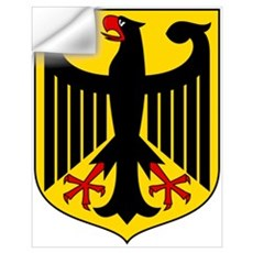 German Coat of Arms Wall Decal