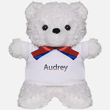 Audrey Stars and Stripes Teddy Bear