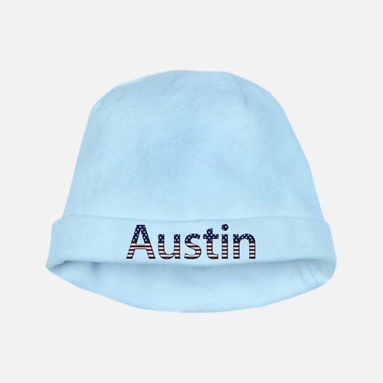 Austin Stars and Stripes baby hat