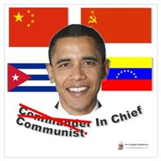 Communist in Chief Framed Print