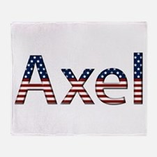 Axel Stars and Stripes Throw Blanket